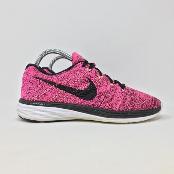 check out 48eba 7597d Nike Flyknit Lunar 3 Womens 8.5 Running Shoes D5. M 5b8773db9539f7f8eb2ca0f8
